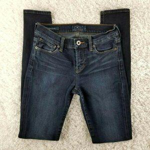 Lucky Brand dark wash Brooke Skinny jeans SIZE 25